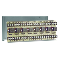 Space Age SSU MR-808/C, Multi-Voltage Series Relay, 10A, SPDT, 8 Position, Grey Enclosure