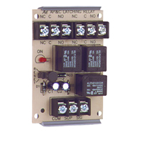 Space Age SSU MR-901/T, Latching Relay with Manual or Electric Reset, 10A, DPDT, 1 Position