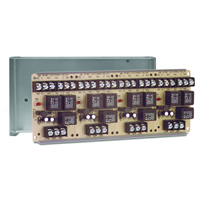 Space Age SSU MR-904/C, Latching Relay with Manual or Electric Reset, 10A, DPDT, 4 Position
