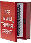 Space Age Electronics SSU00635, TC1 18-Point Terminal Cabinet with Captive Screw Lock, Red