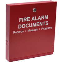 Space Age SSU00672 Electronics FDB, Fire Alarm Documents Box