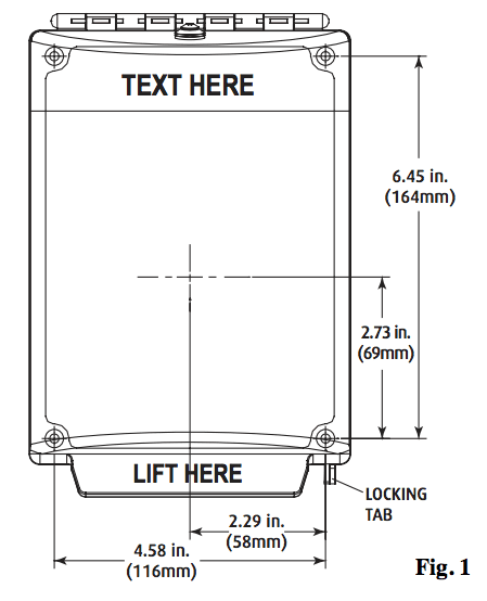 sti 13000nc universal stopper w o horn flush mount clear sti 13000nc dimensions