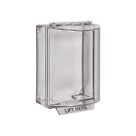 STI 13200NC, Universal Stopper without Horn Housing, Surface Mount, Clear Cover