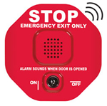STI 6400WIR, Wireless Exit Stopper, Multifunction Door Alarm