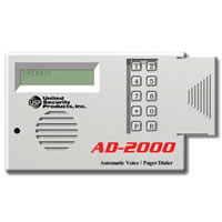 USP AD-2000, 4 Channel 8 Number Voice Dialer
