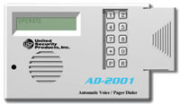 USP AD-2001, 2 Channel 4 Number Voice Dialer