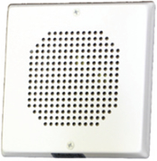 Wheelock CH70 Square Chime 24VDC, Wall or Ceiling Mount, White