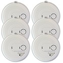 USI 120V AC Combination Smoke/CO Detector w/ Battery Backup, 5-Year Warranty, case