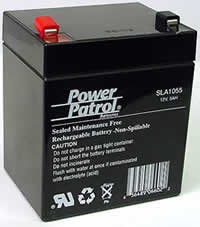 Power Patrol SLA1055, 12V/5 AH SLA Battery