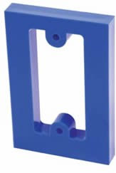 STI KIT-102722-B, 5/8-in Spacer for 2000-Series Stopper Stations, Blue