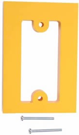 STI KIT-102722-Y, 5/8-in Spacer for 2000-Series Stopper Stations, Yellow