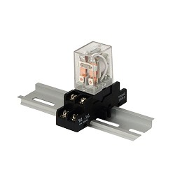 Altronix RAC24, Relay and Base, 24VAC or 28VAC Operation, DPDT Contacts Rated at 10 amp/220VAC or 28VAC
