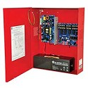 Altronix AL1042ULADA, NAC Power Extender, 4 Class A or 4 Class B Outputs, 24VDC @ 10A, 115VAC, Red BC400 Enclosure
