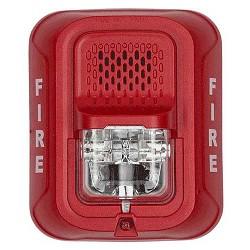 System Sensor P2rl L Series 2 Wire Red Multi Candella Horn