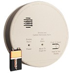 Gentex GN-503FF, 120V AC PE Smoke/CO Detector, 2 Form A/C Relays, 9VDC Backup