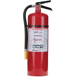 Kidde KN PRO10MP, Fire Extinguisher, 4-A, 60-B:C, 10 lbs., Wall Hook, Rechargeable