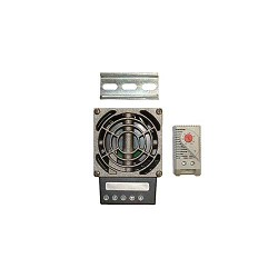 Mier, 100 Watt Heater, Thermostat, Blower, 120 VAC, Medium Encl.