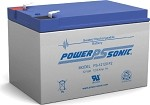 Power-Sonic 12V/12 AH Sealed Lead Acid (SLA) Battery