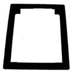 Fireray 5000-010, Semi-Flush Trim Plate for Fireray 5000