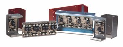 Space Age SSU MR-199X13CR, Heavy-Duty 24VDC Relay, 30A, DPDT, 1 Position, Red Enclosure