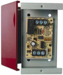 Space Age SSU SC-311/T Timing Relay with Selectable Delay, 5A, 1-Position, Track-Mount Enclosure
