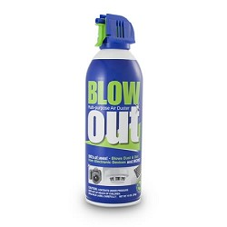 SDi BLOWout Handheld Duster, Case of 12 10oz. Cans