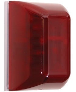 STI SA5000R Select-Alert LED and Siren, Red