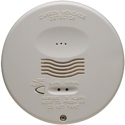 System Sensor CO1224TR 4-wire Round CO Detector w/RealTest Technology