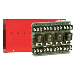 Space Age SSU MR-604/C/R, Multi-Voltage Series Relay w/Manual Override, 7-10A, SPDT, 4 Position