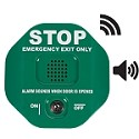 STI 6400WIRG, Wireless Exit Stopper Multifunction Door Alarm, Green