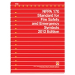 NFPA 170: Standard for the fire safety and emergency symbols