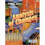 NEC Analysis of Changes, 2011 Edition