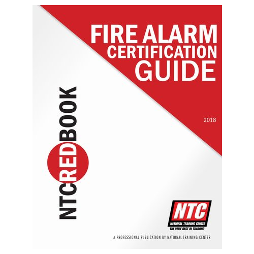 ntc nicet 1 4 testing book red fire alarm sys certification