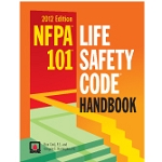 NFPA 101 - Life Safety Code Handbook, Hard Bound, 2012 Edition