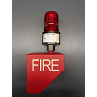 Tomar 12/24VDC Red Outdoor Beacon / OFB Assembly
