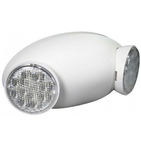 Orbit EL2HM-LED-W Micro Adjustable Round Head Led Emergency Light