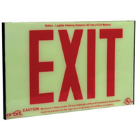 Orbit ESI-R Self-Illuminating Low-Level Exit Sign