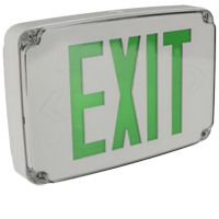 Orbit ESLN4M-GY-1-G-EB Micro Wet Location Led Exit Sign
