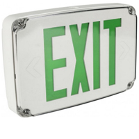 Orbit ESLN4M-W-1-G-EB Micro Wet Location Led Exit Sign