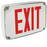 Orbit ESLN4M-W-1-R-EB Micro Wet Location Led Exit Sign