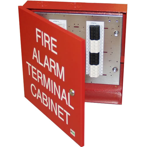 Space Age If2 32 Pt Fire Alarm Terminal Cabinet