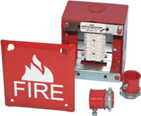 Space Age SSU00664 FB4, 4 In. Sq. Fire Alarm Box