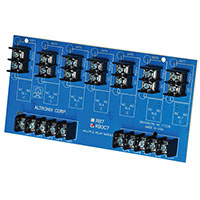 Altronix RBOC7, Open Collector Module - 12VDC or 24VDC operation, 3VDC to 24VDC positive trigger inputs