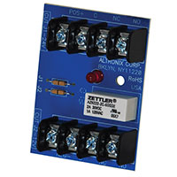 Altronix RBST, Relay Module - 6VDC, 12VDC or 24VDC operation, 30mA current draw, DPDT contacts