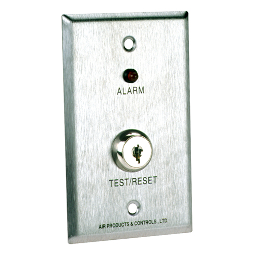 Air Products Controls Ms Ka R Remote With Red Alarm Led Key