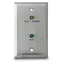 Air Products & Controls MS-RA/P/T, Remote Pilot, with Trouble for Single Gang Box