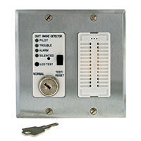 Air Products & Controls MSR-100RA/S, Remote with Sounder w/ Stainless Steel Double Gang Cover Plate