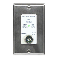 Air Products & Controls MSR-50RK/S, Remote Control Assembly w/ Single Gang Cover Plate, Stainless