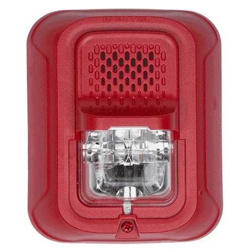 System Sensor P2rl P L Series 2 Wire Red Horn Strobe Multi