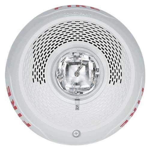 System Sensor Spscwl L Series White Ceiling Speaker Strobe